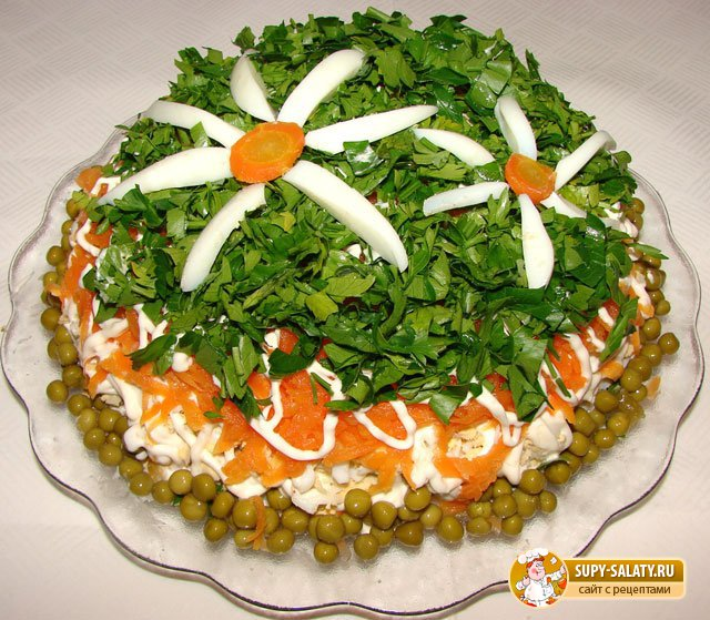 самые вкусные салаты на день рождение