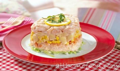 с фото креветками салаты рецепты с новогодние