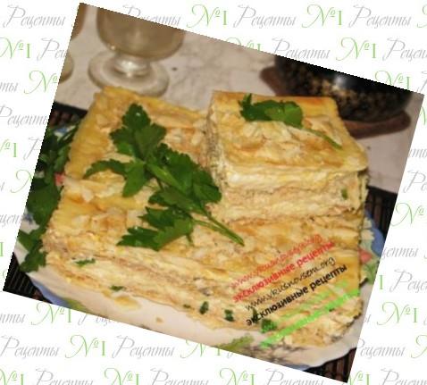 Коржи вафельные для торта в мультиварке