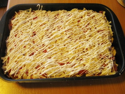 рецепты с семгой в духовке со сливками