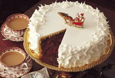 Новогодние торты, пошаговые рецепты с фото