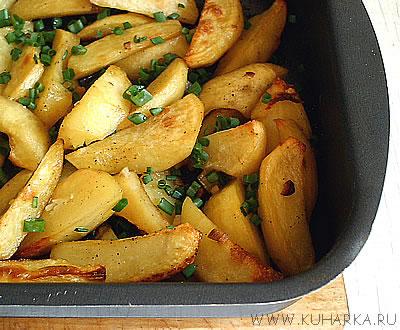Печеная картошка в духовке вкусные и