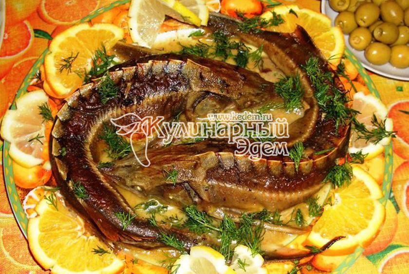 рыба лобань рецепты приготовления в духовке с фото