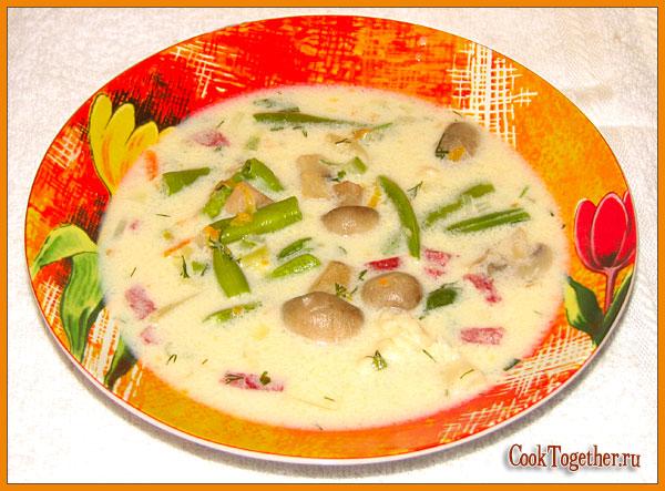 рецепт супа из вальдшнепа рецепты