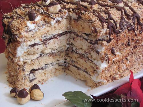 Торт безе рецепты простые в домашних условиях с фото