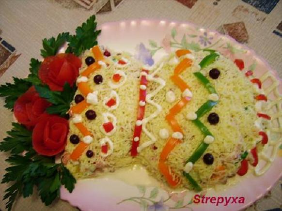 салат ветчина шампиньоны фасоль