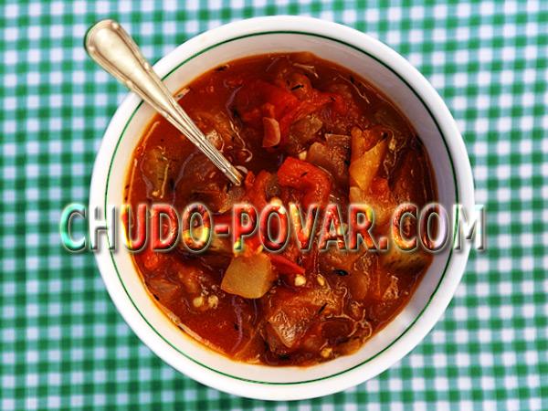 салат с креветками и чесноком рецепт с фото