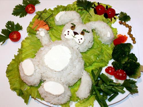 рецепты салатов с фото в форме