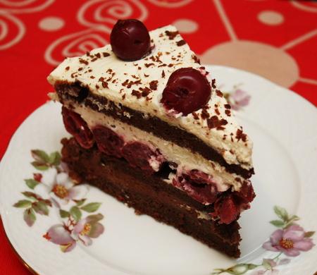 рецепт тортов из мастики с вишней фото