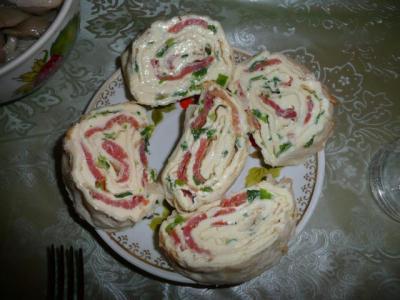 Салат с сыром хохланд