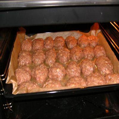 тефтели в духовке рецепт с фото с сыром и