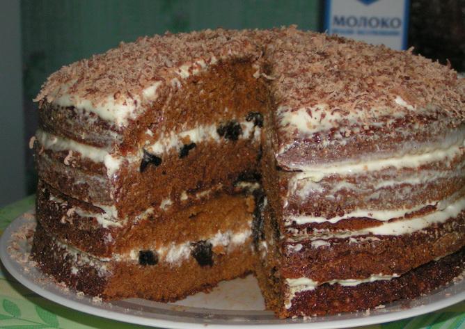 Торт на юбилей 50 лет вишинка на торт