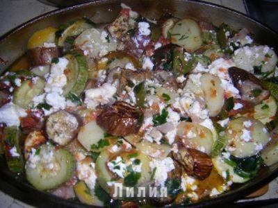рецепты овощного рагу в духовке с фото