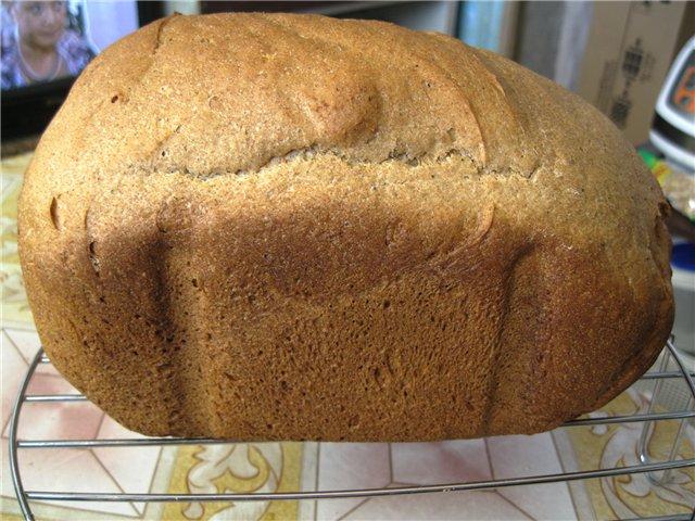 рецепты полезного хлеба для мультиварки