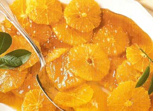 Как карамелизировать апельсин для торта