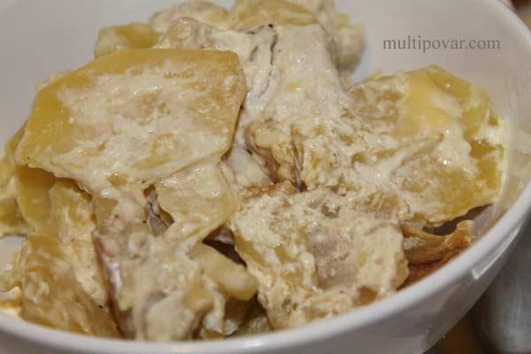 картошка с бараниной в мультиварке рецепты с фото
