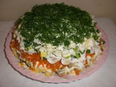 салат три мяса с языком рецепт с фото