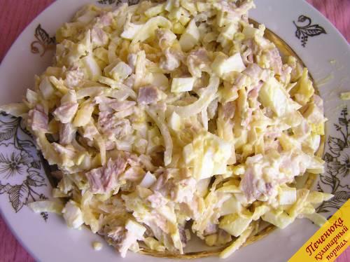 вкусные салаты с сыром и курицей рецепты с фото