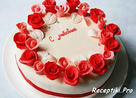 торт из мастики рецепт с пошаговым