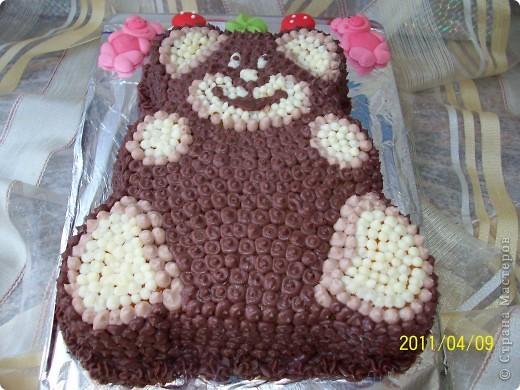 мишка на севере торт рецепт с фото пошагово