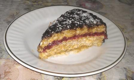 рецепт торт с вафельными коржами