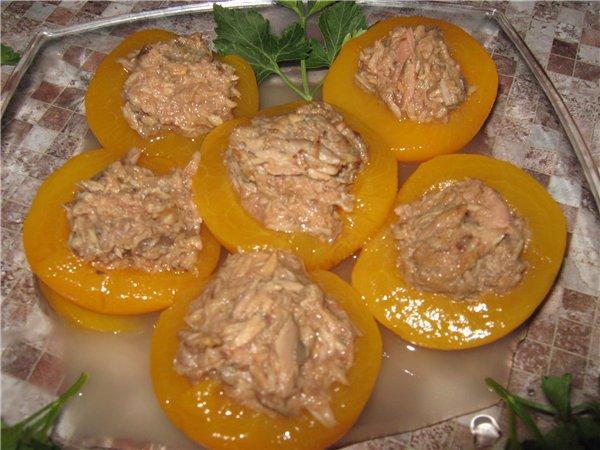 салат наполеон рецепт с тунцом