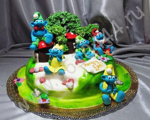Детские торты на заказ для девочек