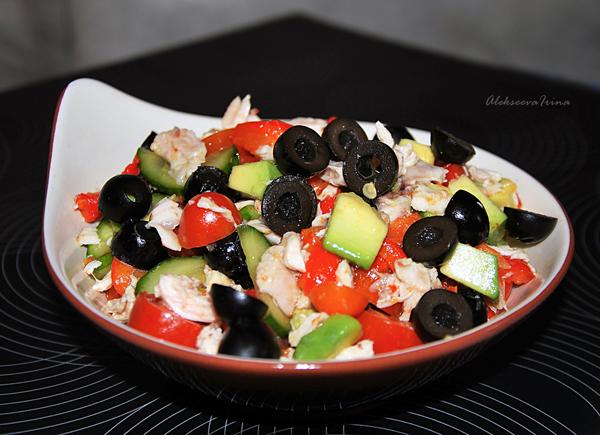 легкие красивые салаты рецепты с фото