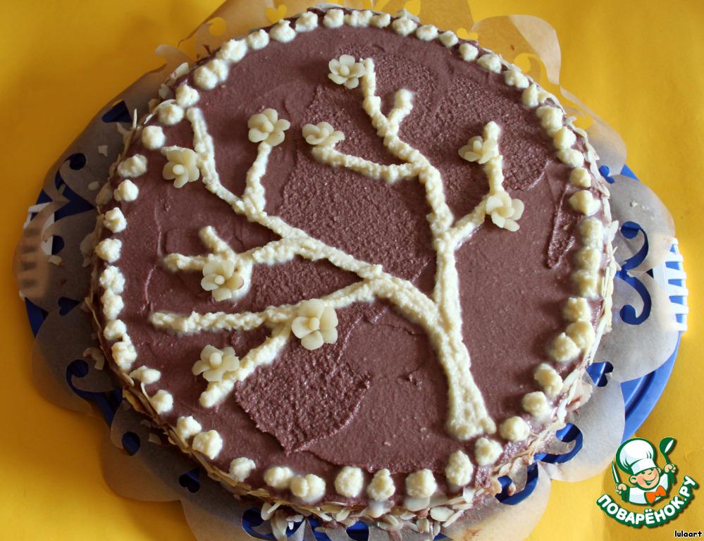 на графских развалинах торт рецепт с безе с фото