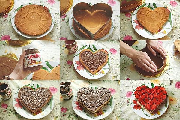 Как украсить торт из покупных коржей рецепт