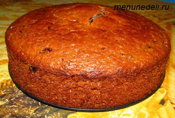 Простой пирог из варенья рецепт