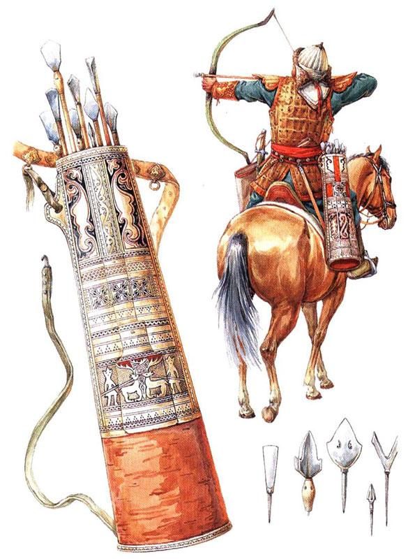 Как сделать монгольский боевой лук