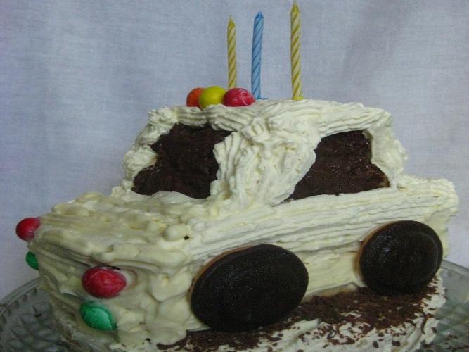 как сделать торт в виде машины в домашних условиях пошаговый рецепт с фото