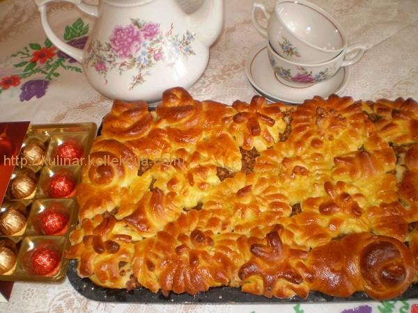 Как сделать начинку из сушеных яблок для булочек