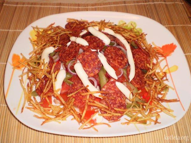 Салат пай рецепт с фото