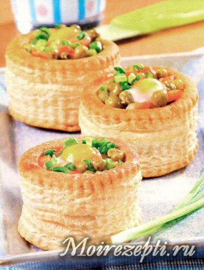 салата в тарталеток рецепты с фото простые