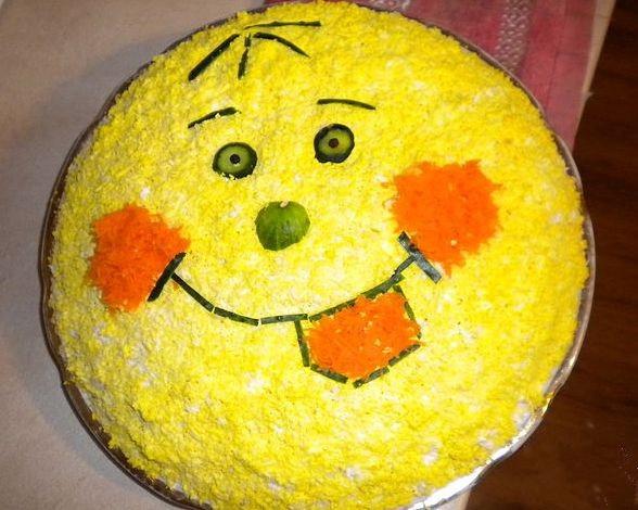 салаты с фото детские рецепты