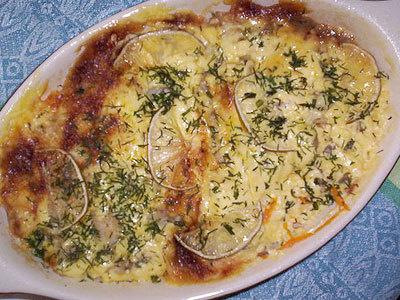 морской язык рецепты с картошкой в мультиварке