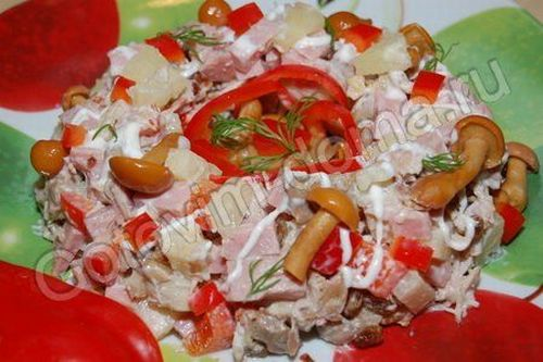 Салат на корпоратив рецепт с фото