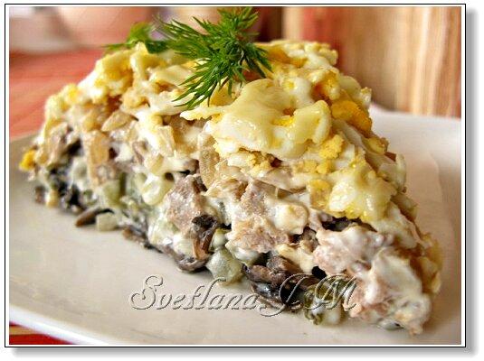 вкусные салаты с лососем рецепты с фото