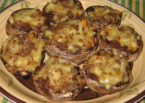 Быстро блюда с грибами рецепты