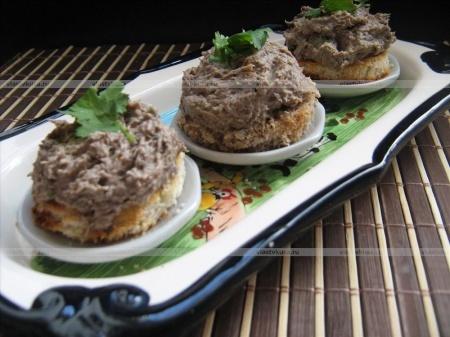 Грибной паштет рецепт из лисичек