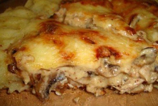 запеканка картофельная курицей рецепт фото
