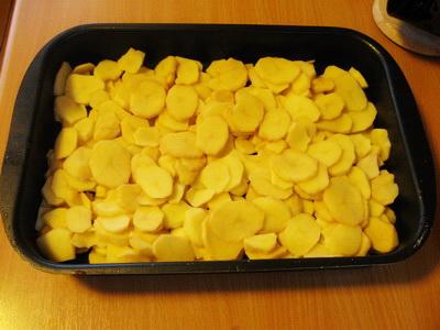 картошка в духовке с начинкой рецепты