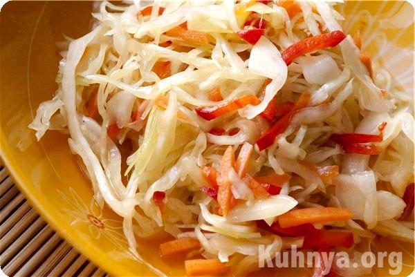 салат из яиц и капусты рецепты с фото