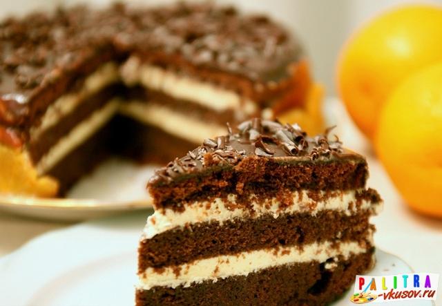 Нежный шоколадный торт рецепт