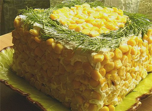 Новые салаты рецепты с 2015