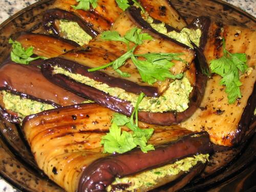 блюда из баклажанов с рецепты фото