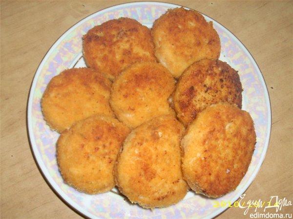 рецепты котлет с сыром и яйцом
