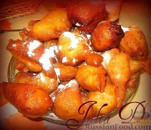 Пончики ряженке рецепт с фото